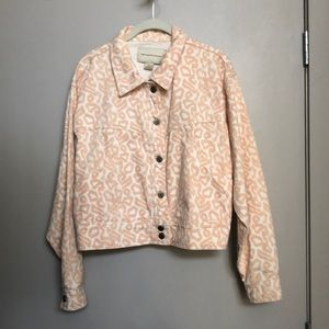 Anthropologie Pilcro and the Leterpress jacket